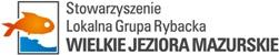 """Stowarzyszenie Lokalna Grupa Rybacka """" Wielkie Jeziora Mazurskie"""" Logo"""